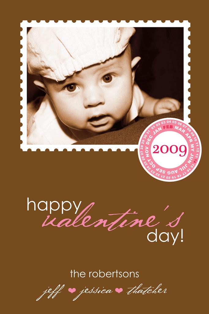 postage stamp custom photo valentine greeting card | Flickr