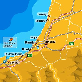 Mapa Pais Vasco Frances.Mapa Pais Vasco Frances Mario Vidal Flickr