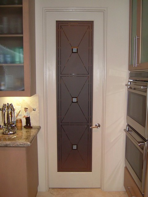 etched glass pantry door cross hatch pantry