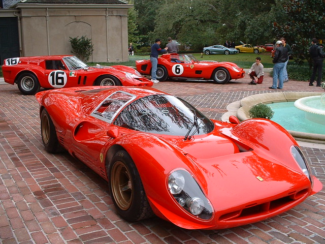 Ferrari 330 P4 and Friends in New Orleans