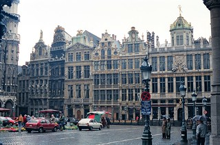 30. //60/1k/1029/14.f - Grand Place. Brussels / Bruxelles, Belgium 1987