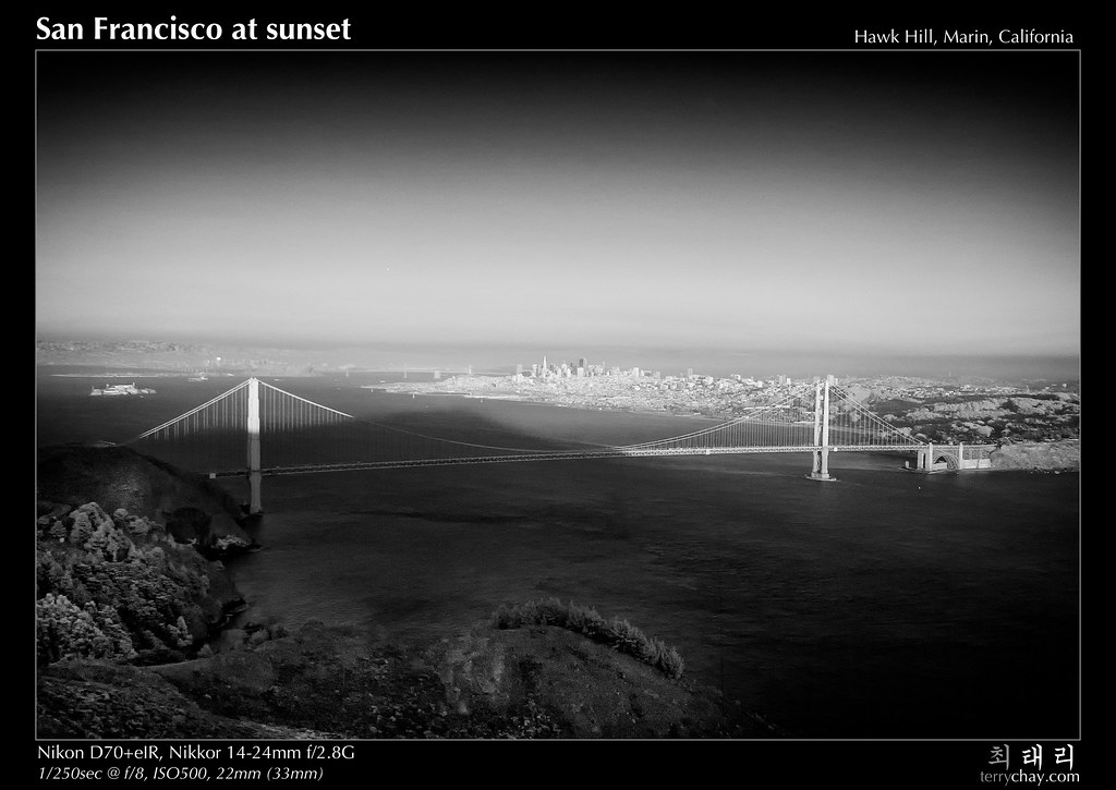 San Francisco at sunset by tychay