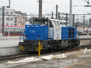 CFL Class 1100 (Vossloh G1000) no. 1106, Luxembourg | by bindonlane