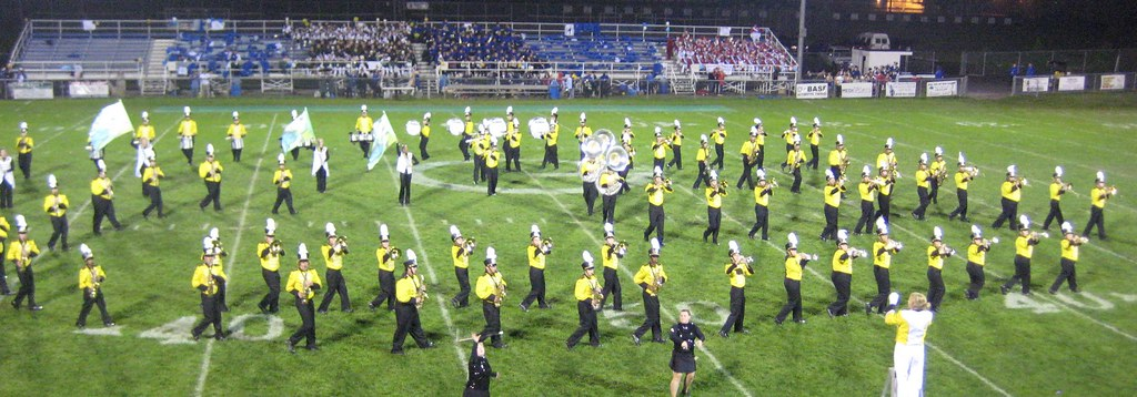 Adrian College | The Adrian College Bulldog Marching Band is… | Flickr