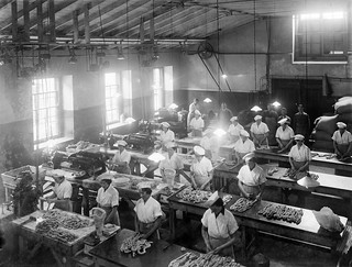 Sausage Room at Denny's Factory, Waterford | by National Library of Ireland on The Commons