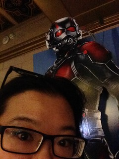 PIC: Oh no! What does it mean if #AntMan is bigger than me?! How small am I?! | by @jozjozjoz