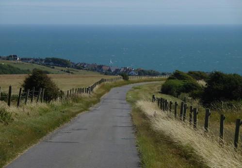 Approaching Rottingdean Lewes to Brighton via Rottingdean walk