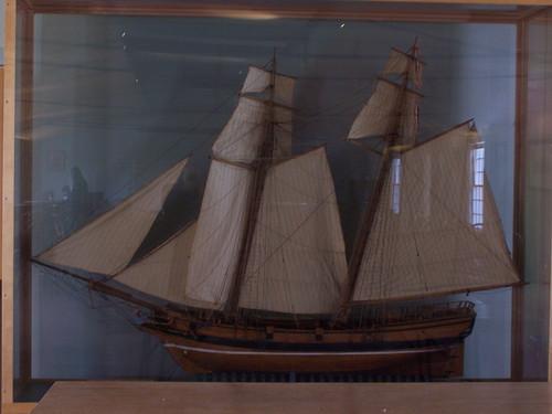 Model of HM Schooner <i>Nancy</i>   by cetaylor