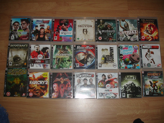 My PS3 games collection | NarmoNar | Flickr