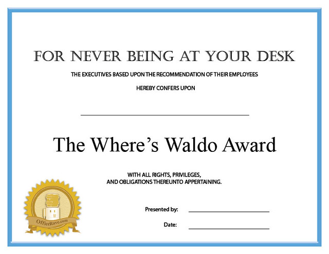 picture relating to Where's Waldo Printable named Printable Certificates: Wheres Waldo Printable Certificat