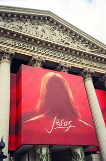 15. //60/50/98 - Jesus at La Madelaine, Paris 2000