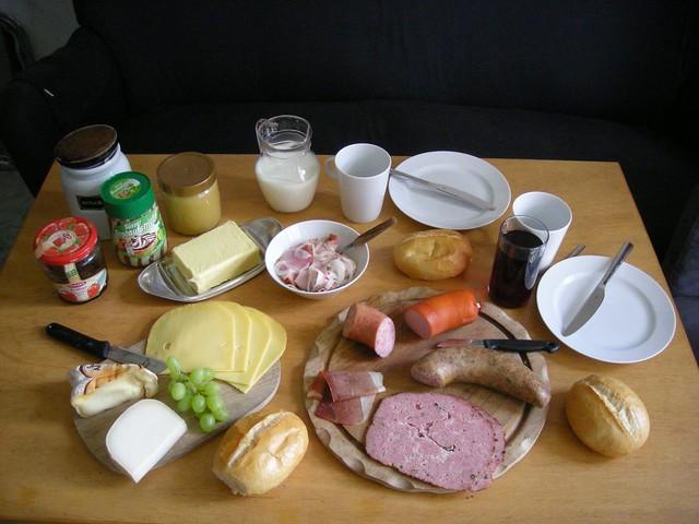 Gutes deutsches Frühstück