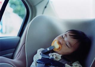 SAKURAKO. Sleep in car.   by MIKI Yoshihito. (#mikiyoshihito)