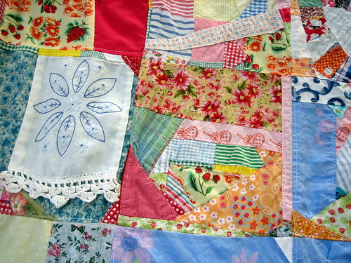 quilt crazy with pillowcase scrap | by DallanQuilts