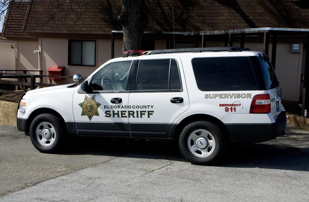El Dorado County Sheriff's Office SUV | Vehicles of the El D