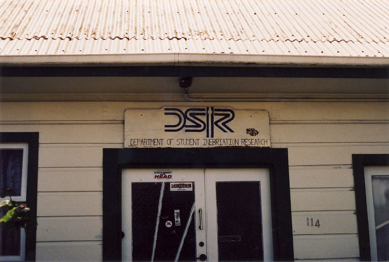 DSIR (Department of Student Inebriation Research)