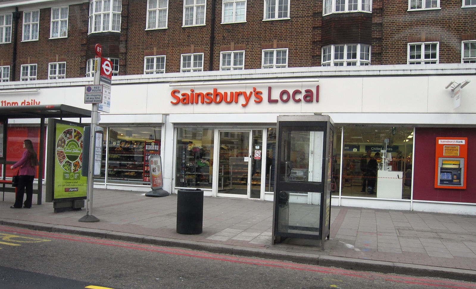 London 488 Sainsbury's Local