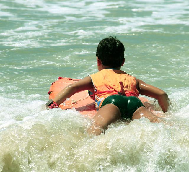 Avvicinamento al Surf