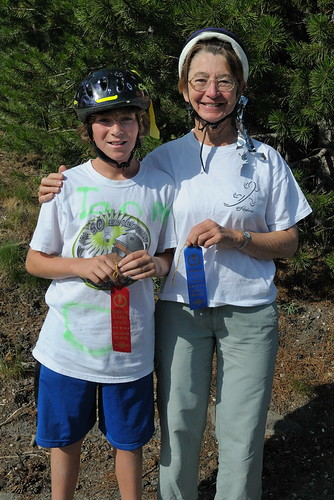 Ian & Ann with ribbons for bike race at Serene Lakes Days-03 8-2-09 | by lamsongf