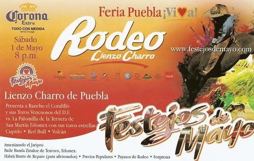 Rodeo Lienzo Charro