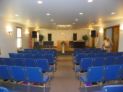 Big Timber Church Of God Interior View I Have Many