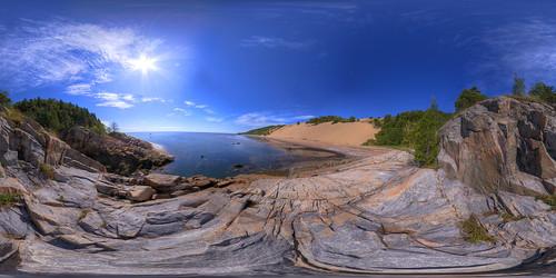 Tadoussac Sand Dunes Equirectangular | by haban hero