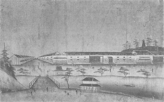「赤羽橋有馬屋敷」(江戸時代・19世紀頃)