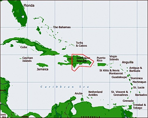 A0/ Dominican Republic/ Location Map | dany13 | Flickr