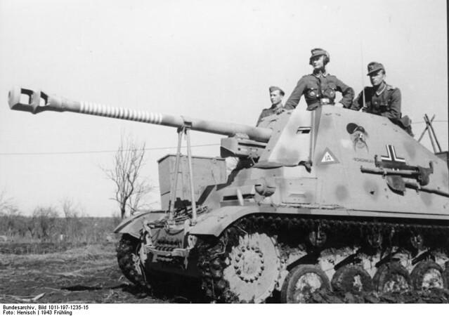 7,5 cm PaK 40/2 auf Fahrgestell PzKpfw II (Sf) « Marder II » (Sd.Kfz. 131) « Kohlenklau »