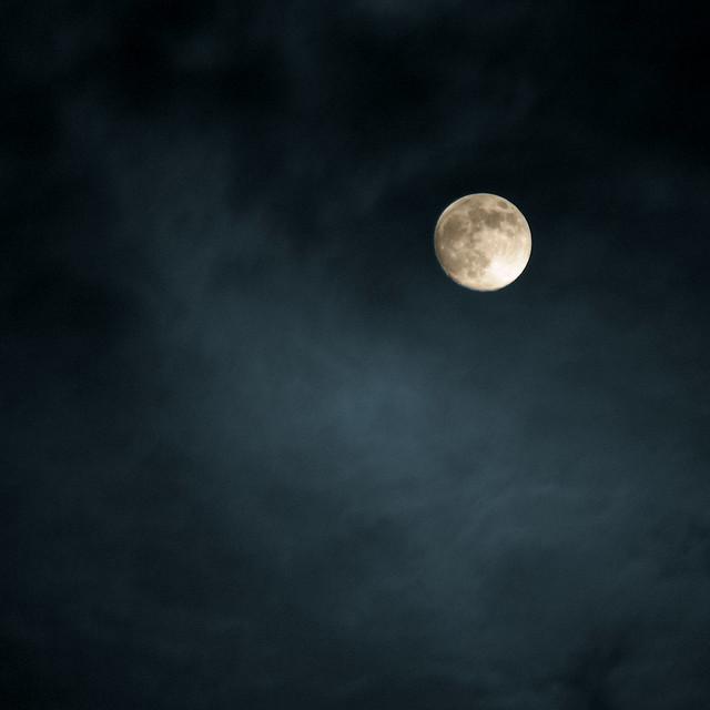 January moon 2