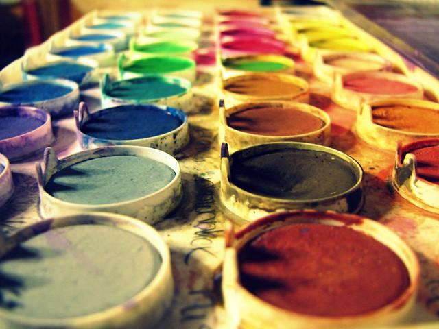 140 ~ paint rainbow