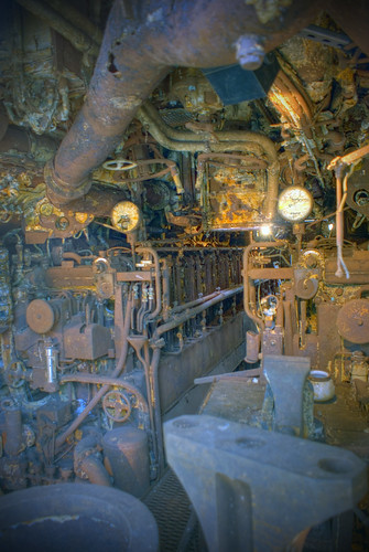 The Engine Room From Way Back: U-534 Was Commissioned And