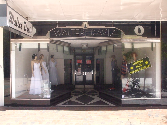Walter Davis Ballarat - Art Deco Shopfront