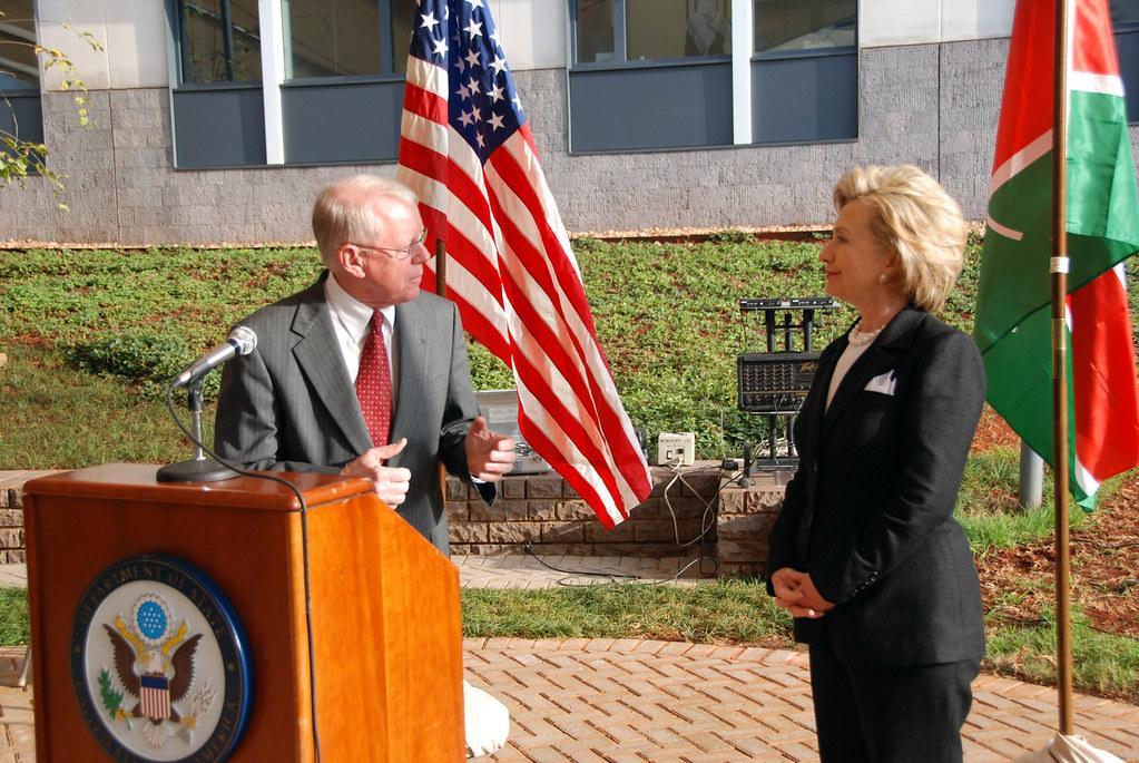 Secretary Clinton Addresses U S  Embassy Staff in Kenya | Flickr