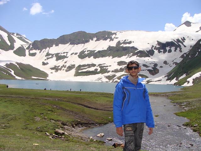 Junaid at Dudipatsar Lake, Pakistan