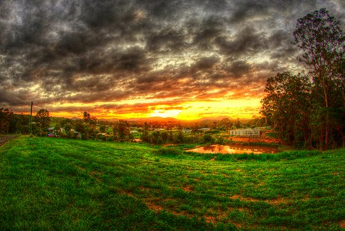 sunset last photoshop hdr decade gympie