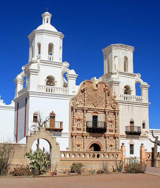 Exterior of the Mission Xavier del Bac