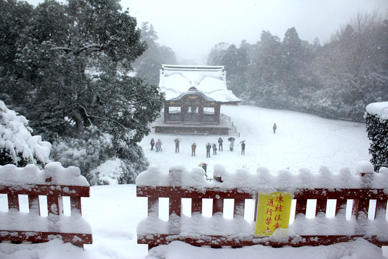 雪の鎌倉_27