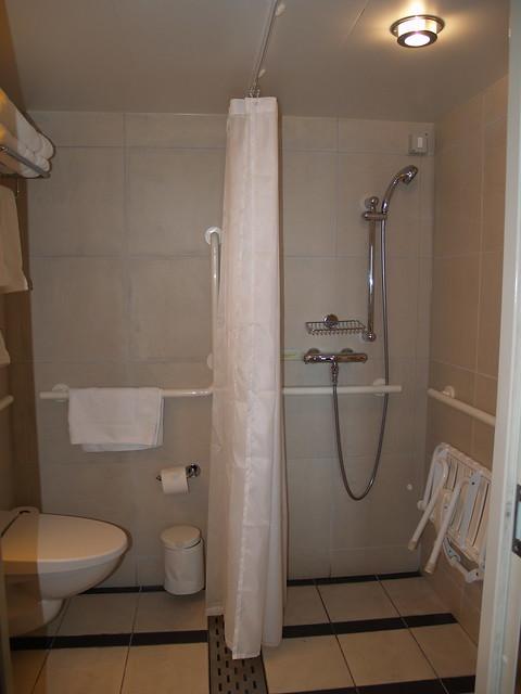 Bathroom in Acessible Cabin