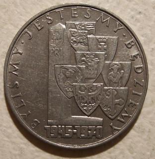 POLAND ---10  ZLOTYS 1970 b