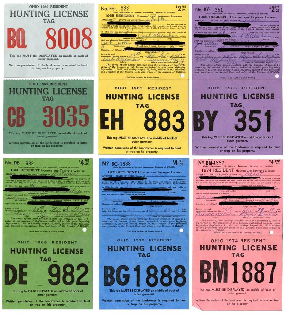 Ohio Hunting License | Doug Focht | Flickr