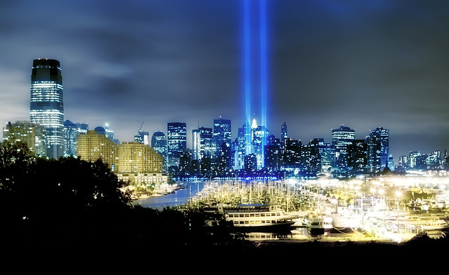 Tribute in Lights - 9/11/2009