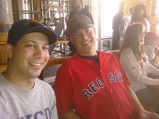Me and @biggestron at Boston Beer Works | by penner42