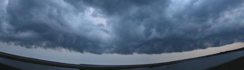 cloud clouds squall newjersey october nj inpassing thunderstorm cumulonimbus portrepublic gardenstateparkway forsythenationalwildliferefuge