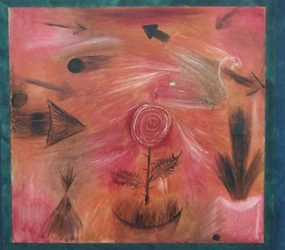 "Paul Klee: ""Rose wind"" (1922) 
