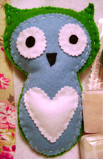 Owl Stuffie Received from Sara
