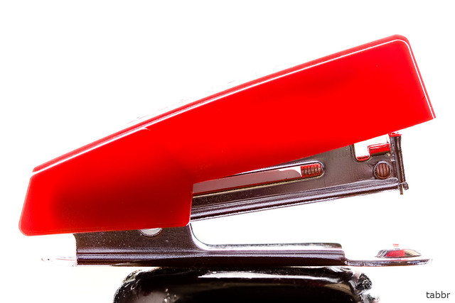 Red Swingline Stapler And I Said I Don T Care If They Lay Flickr