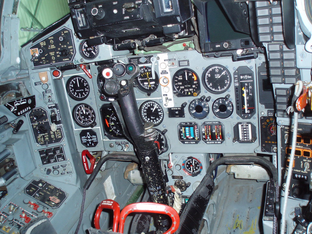 Mig-29 cockpit | Anemone Nemorosa | Flickr