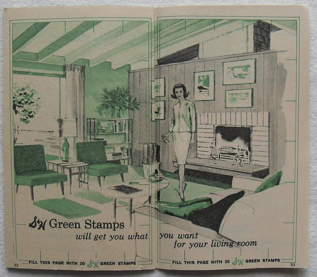 S & H Green Stamps Booklet 5