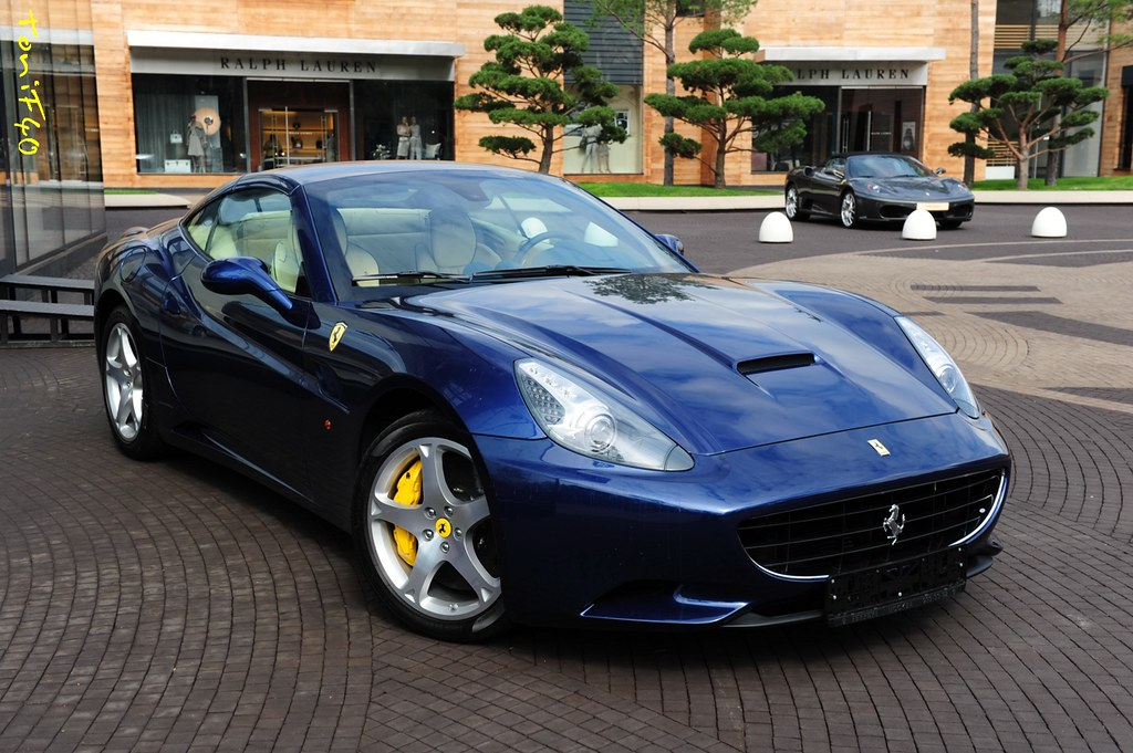 Ferrari California 167860 Blue Tour De France Anton Ingovatov Flickr